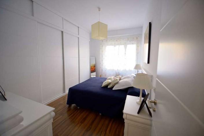 dormitorio reforma piso barrio Salamanca