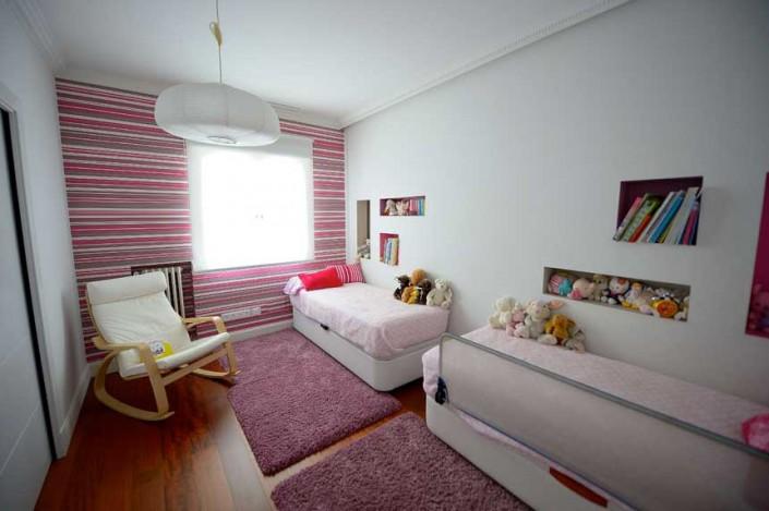 habitación infantil en reforma integral en calle Goya