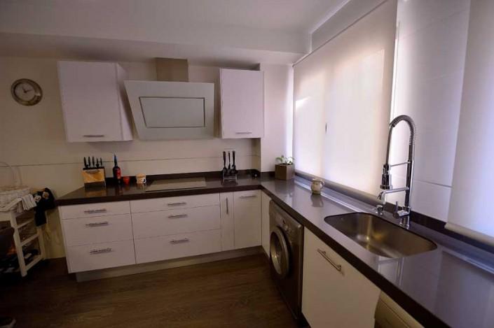 reforma cocina piso barrio Salamanca