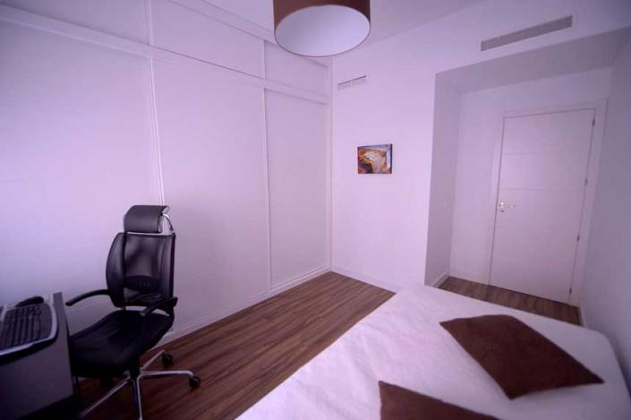 habitación juvenil reforma piso barrio Salamanca