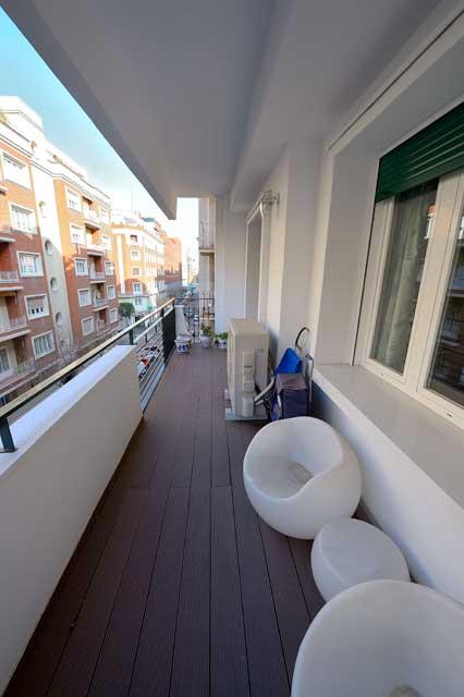 terrraza reforma piso barrio Salamanca