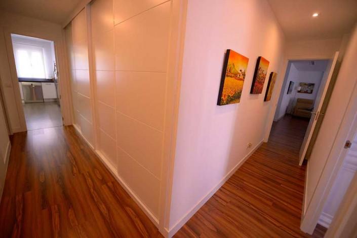 pasillo reforma piso barrio Salamanca