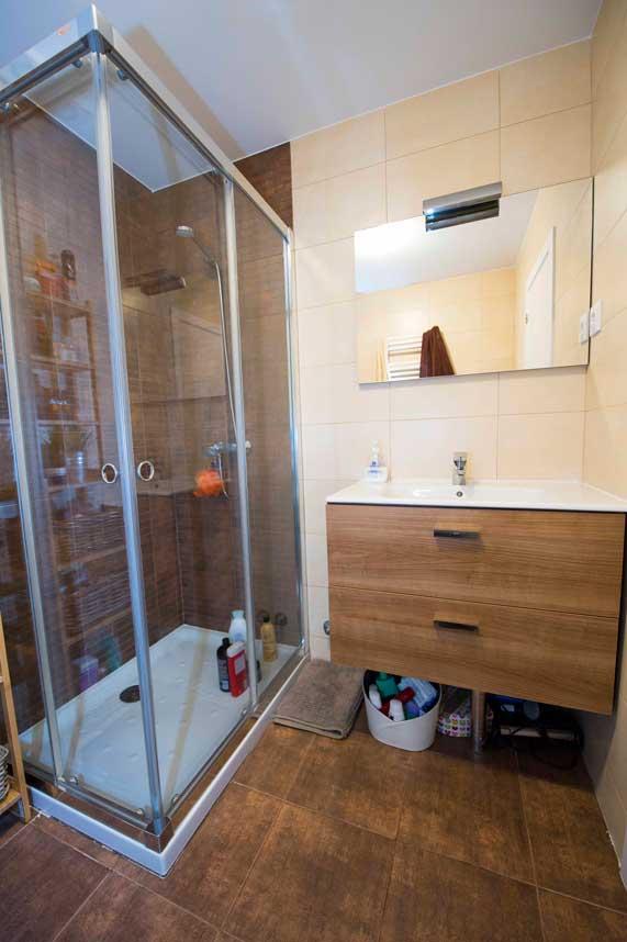 reforma de baño en piso de Madrid capital