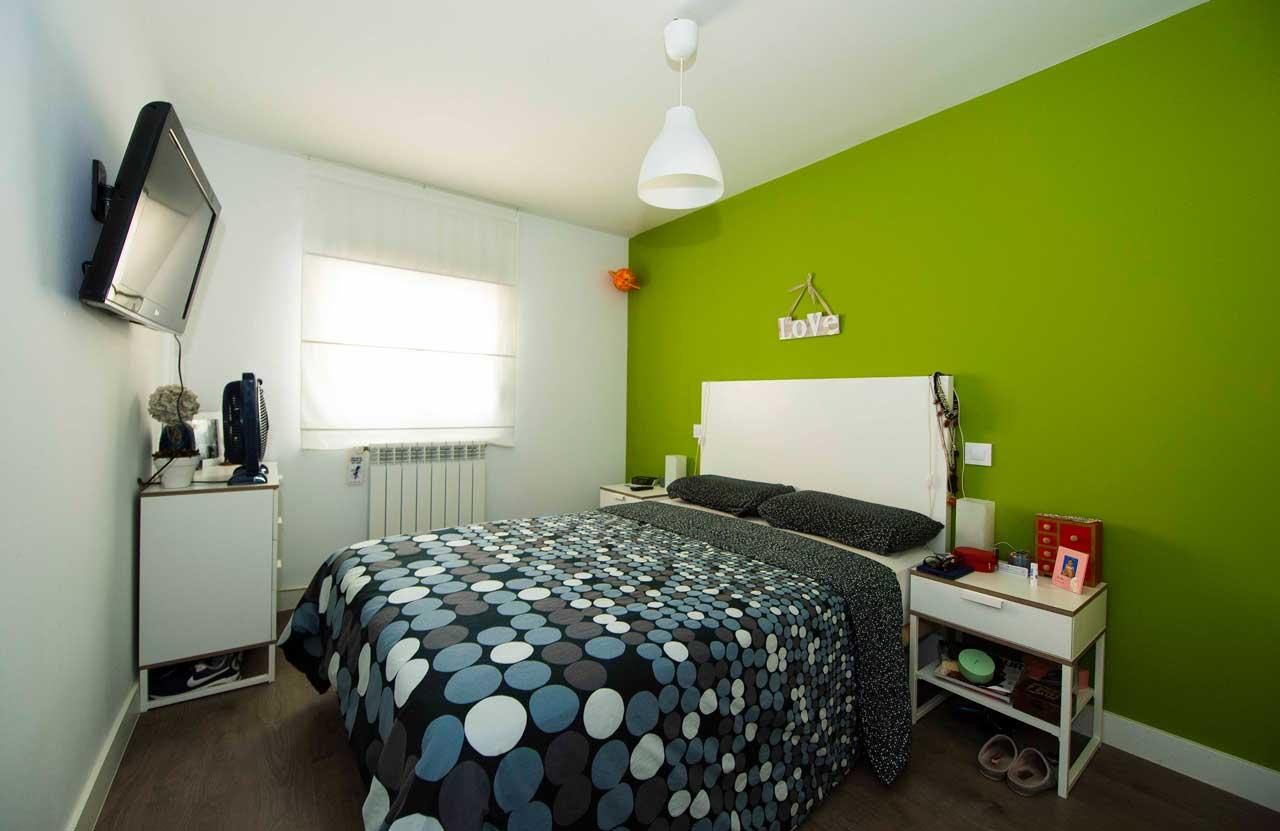 dormitorio reforma integral de piso Madrid capital