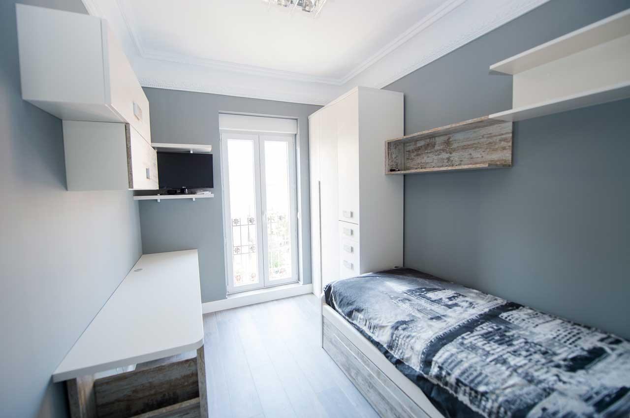habitación juvenil piso barrio de Salamanca