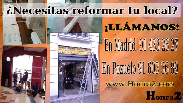 reformas de locales comerciales y oficinas