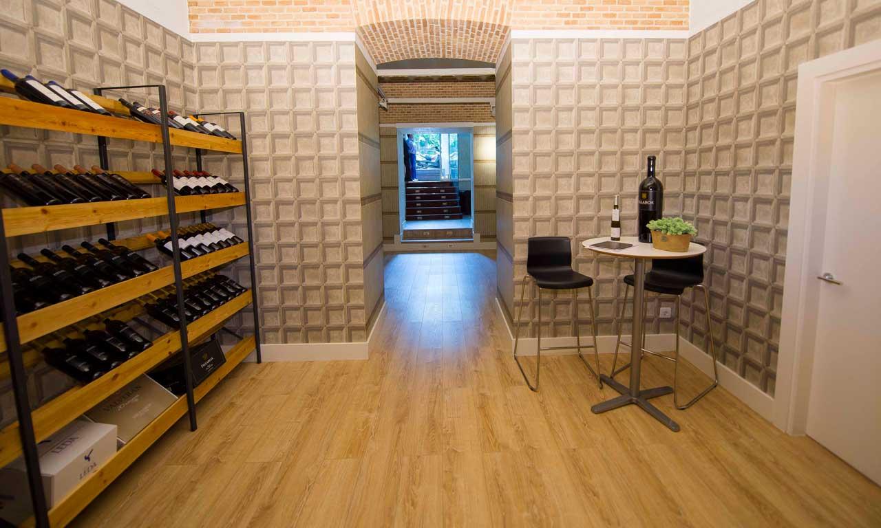 reforma oficinas en Madrid empresa vinícola