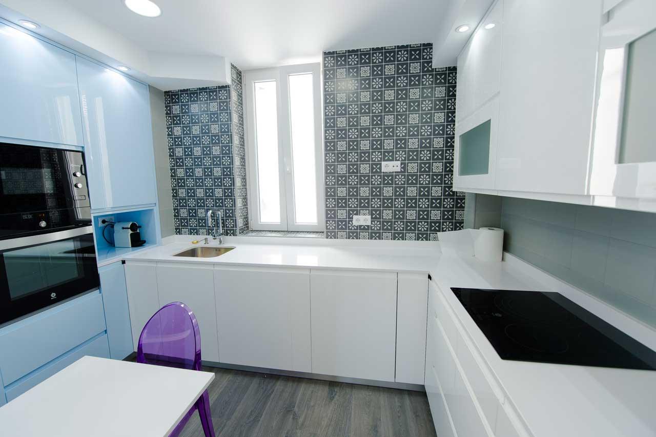 cocina piso barrio Salamanca