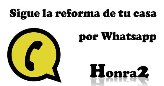 Siguel por whatsapp tu reforma