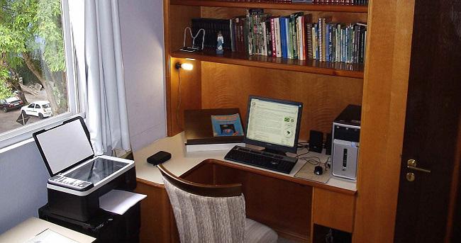 habitacion de estudio
