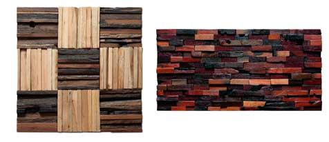 paneles de madera dura