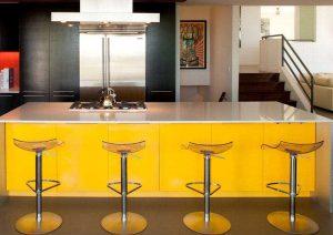 cocina de diseño con isla