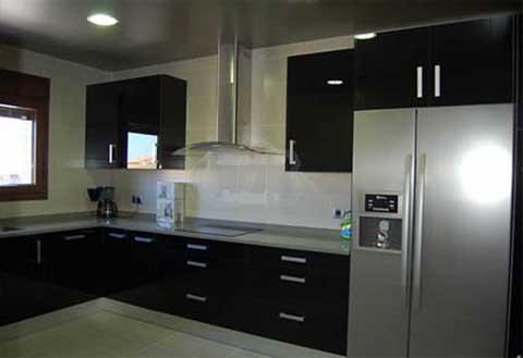cocina reformada en Madrid