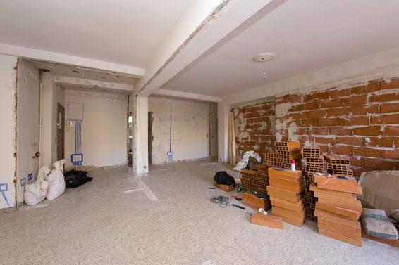 redistribución de piso