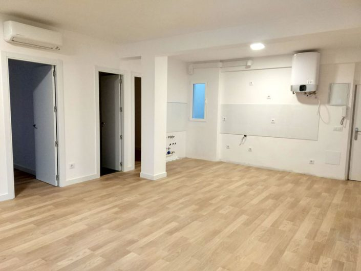 reforma piso Alcobendas cocina americana