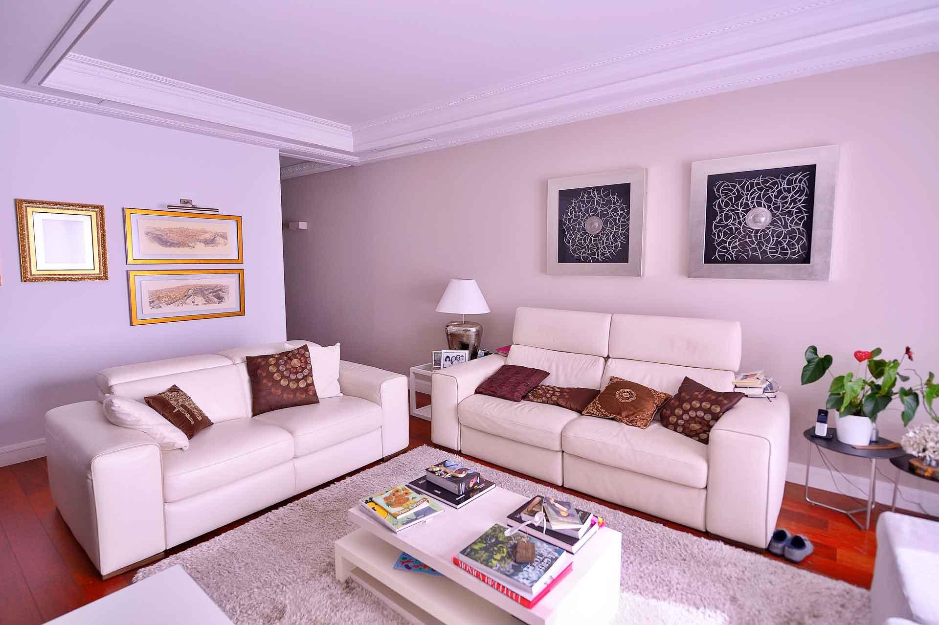 salón reforma de piso en calle Goya