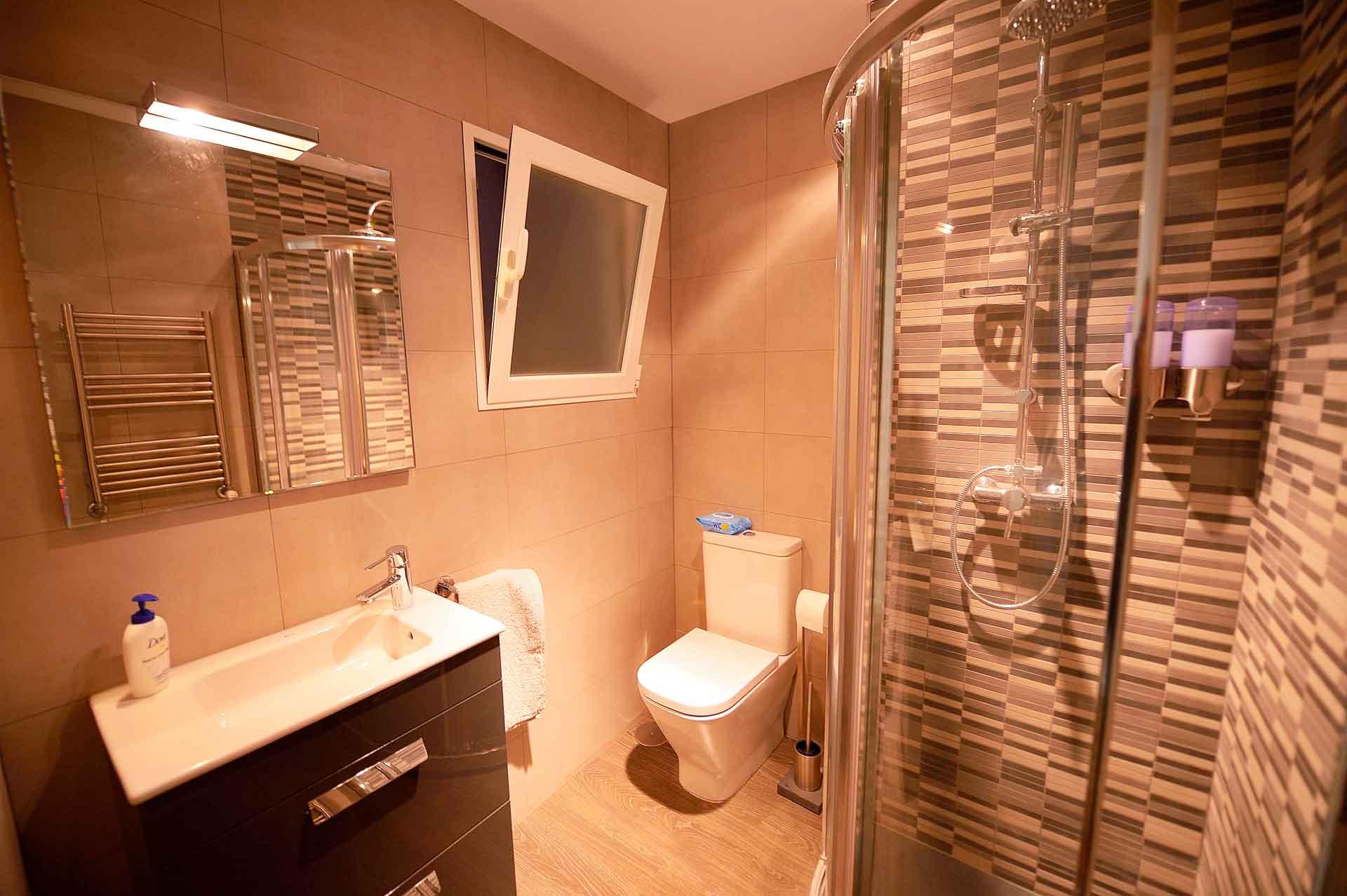 reforma de baño en piso del barrio de Salamanca