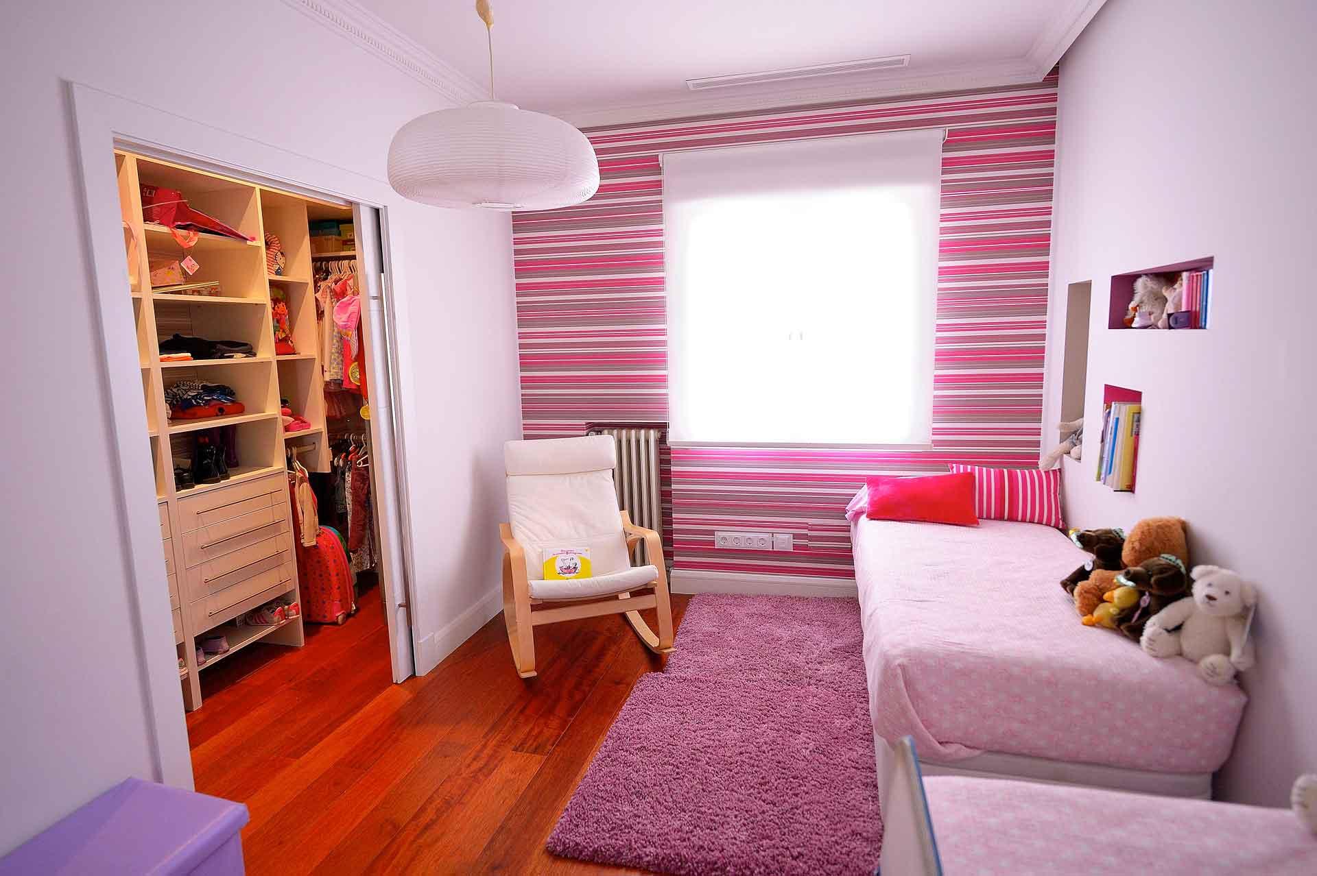dormitorio infantil piso en calle Goya