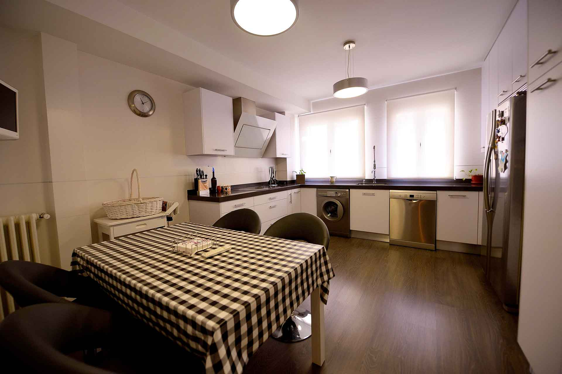 reforma cocina piso barrio de Salamanca
