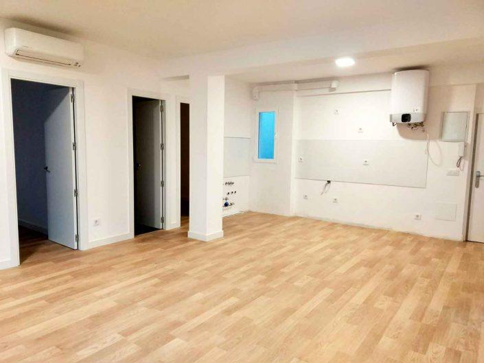 reforma cocina americana piso en Alcobendas