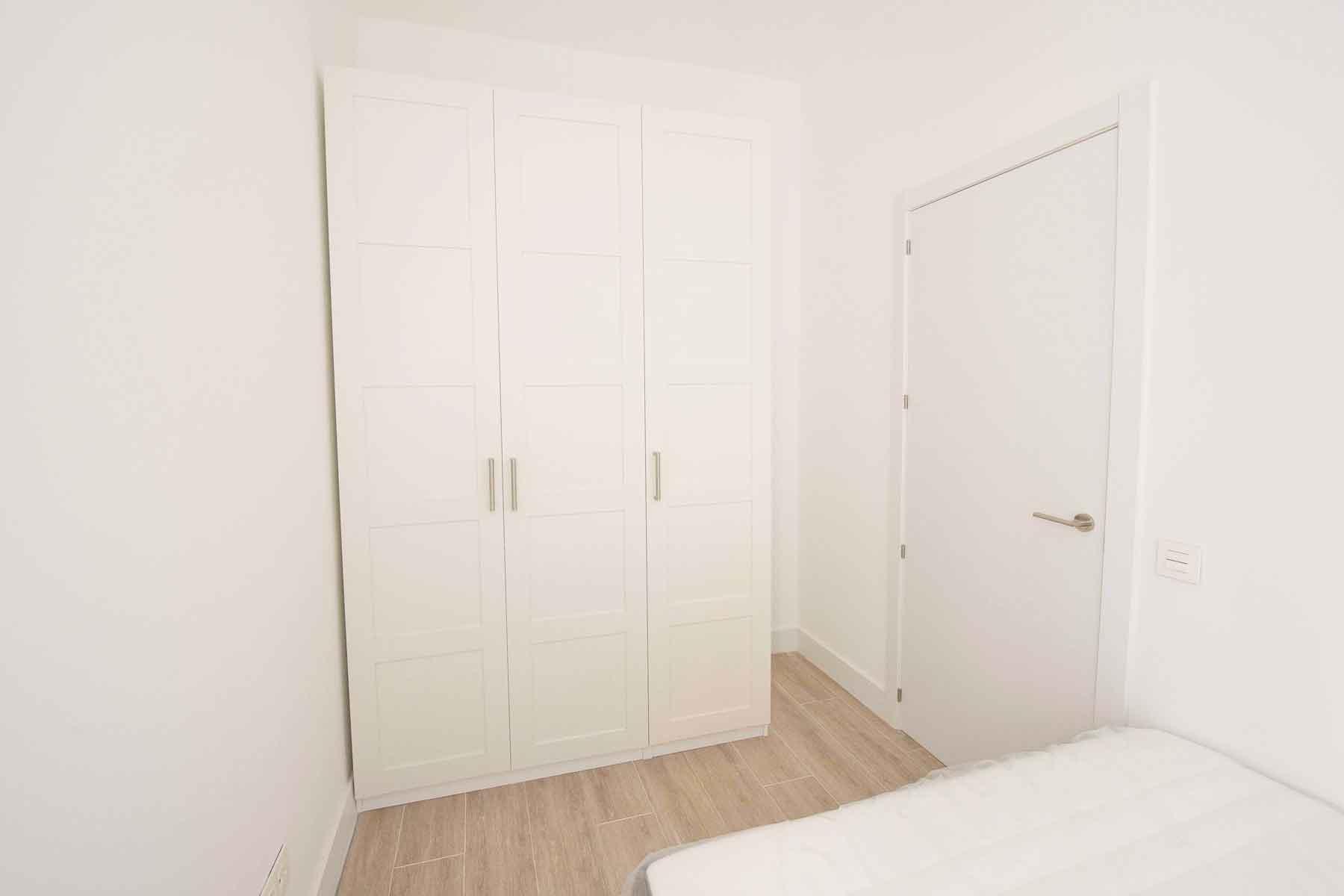dormitorio apartamento Chamberí