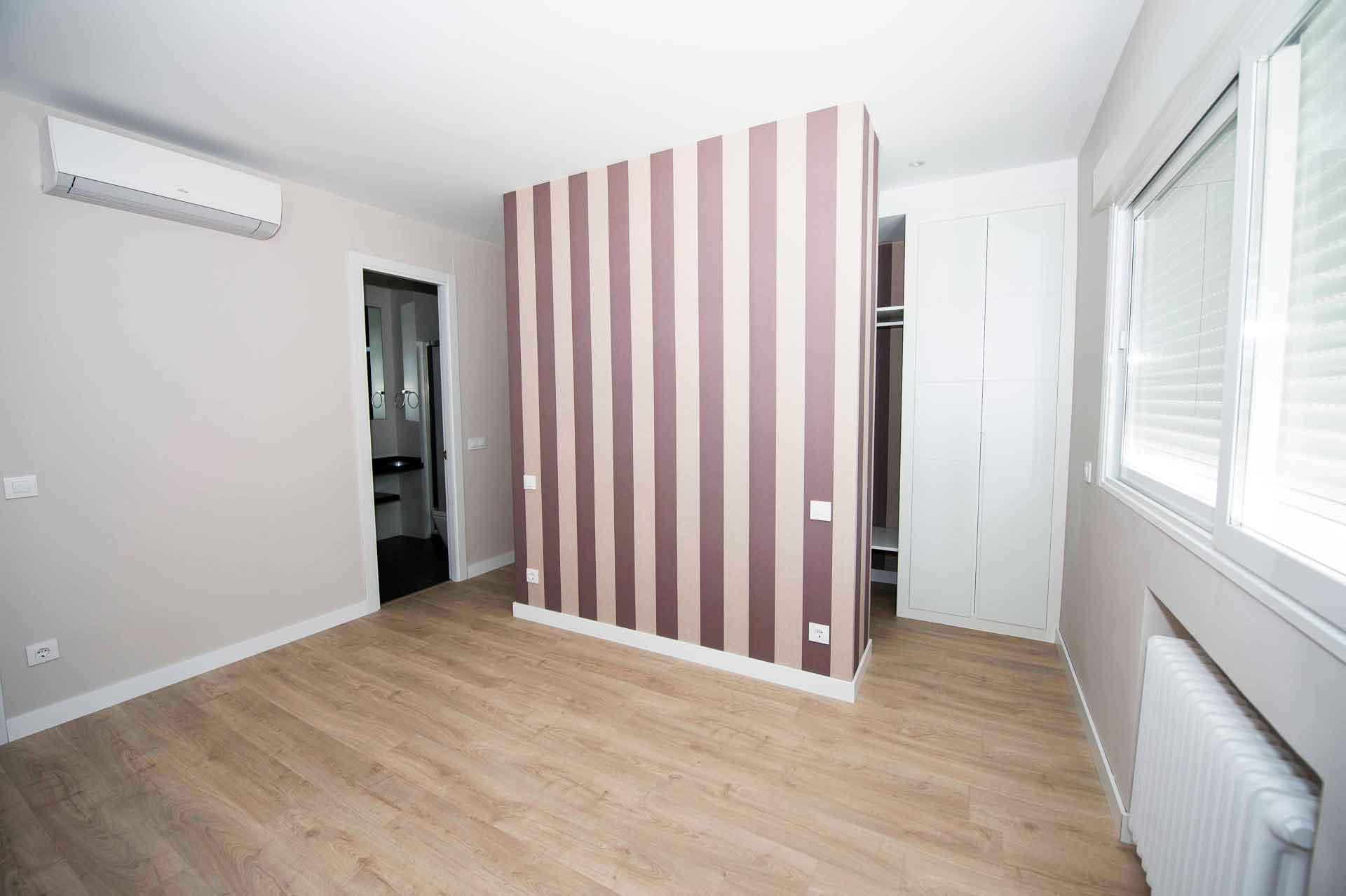 habitación con vestidor piso General Díaz Porlier