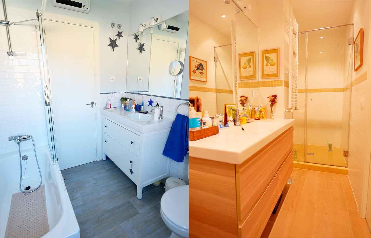 Reforma baños piso en jerónimos, Madrid