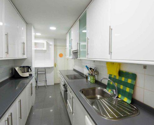 reforma cocina de piso en Pozuelo