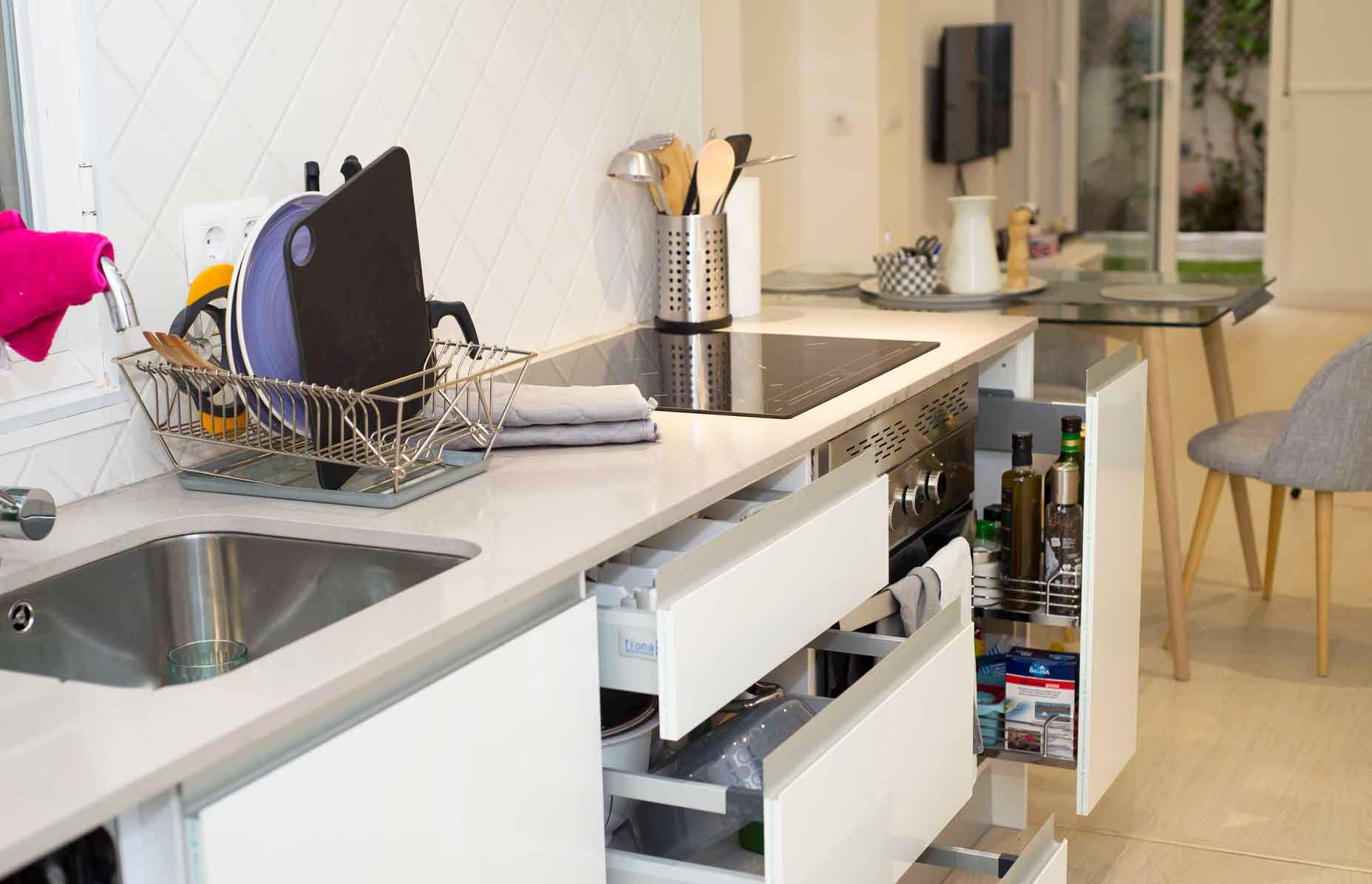 reforma cocina piso Jorge Juan en Madrid