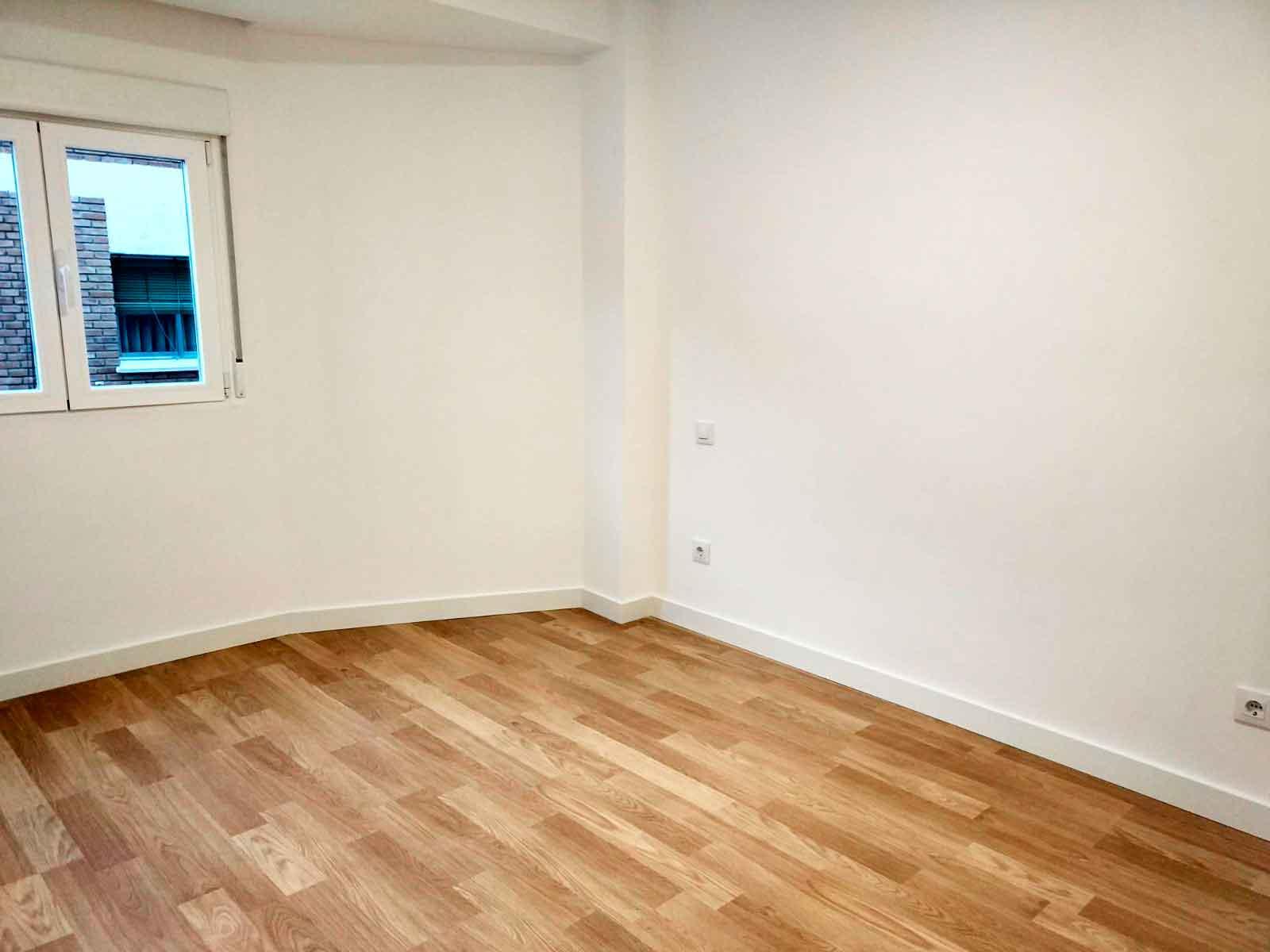 reforma habitación de piso en Alcobendas