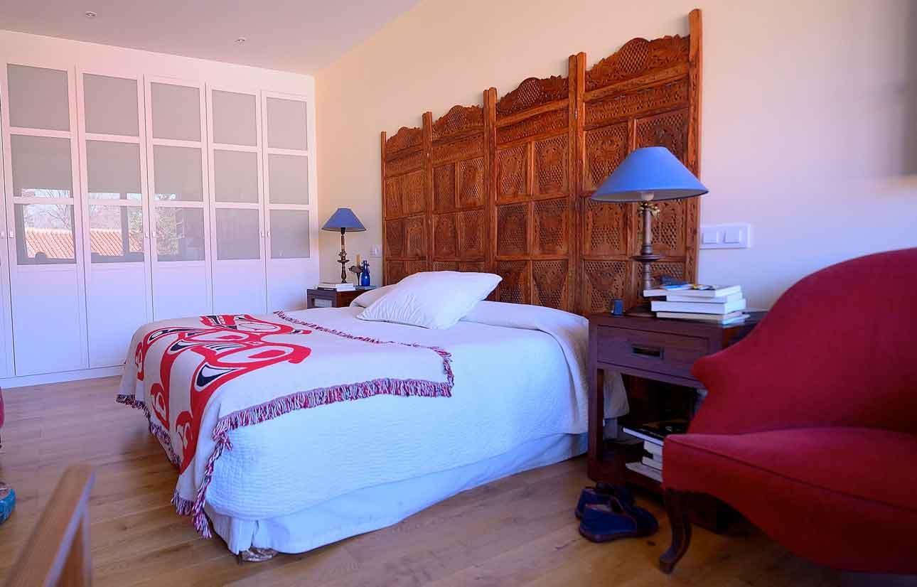 reforma dormitorio piso en jerónimos, Madrid