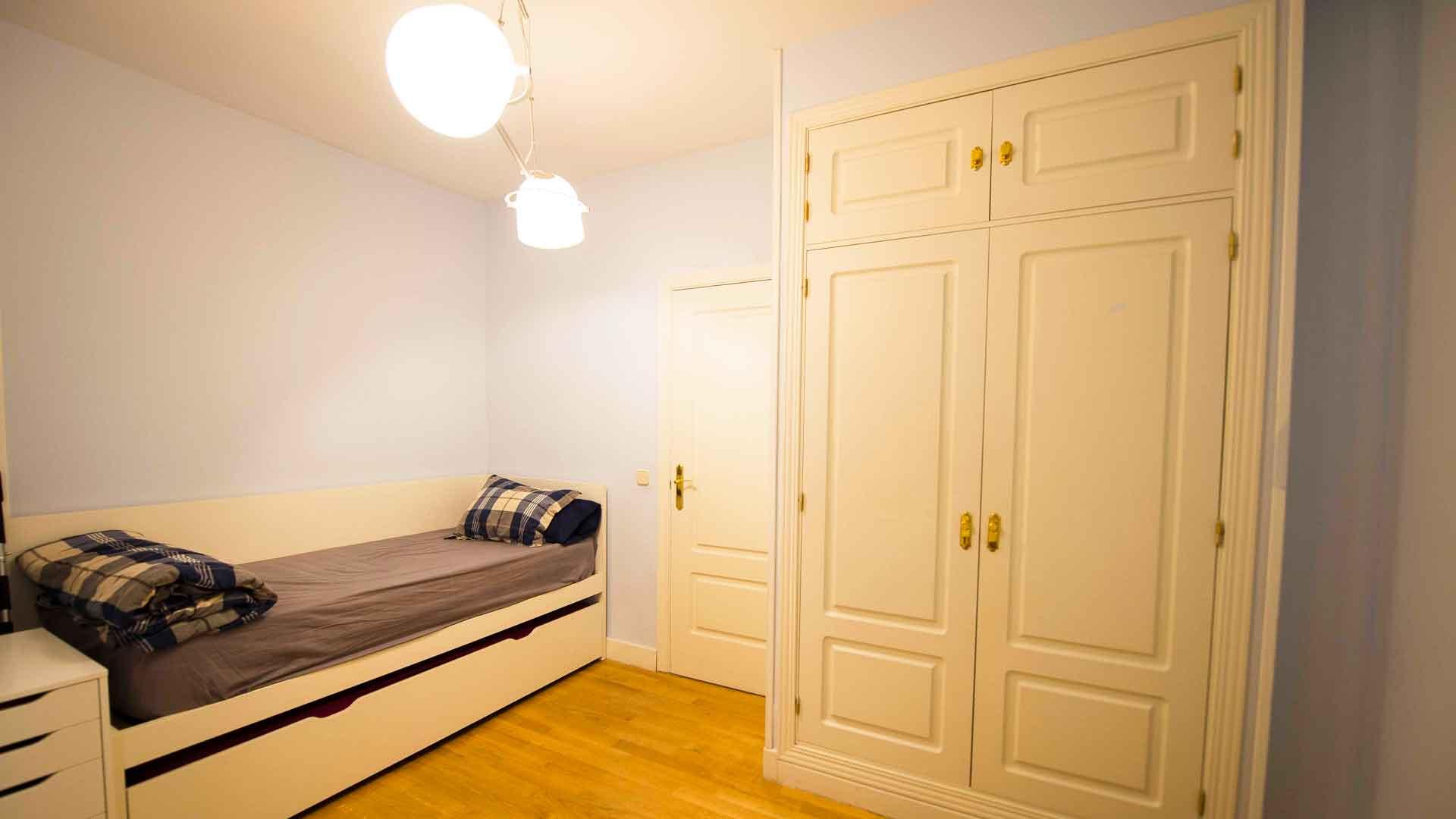 habitación juvenil reforma de piso en Pozuelo