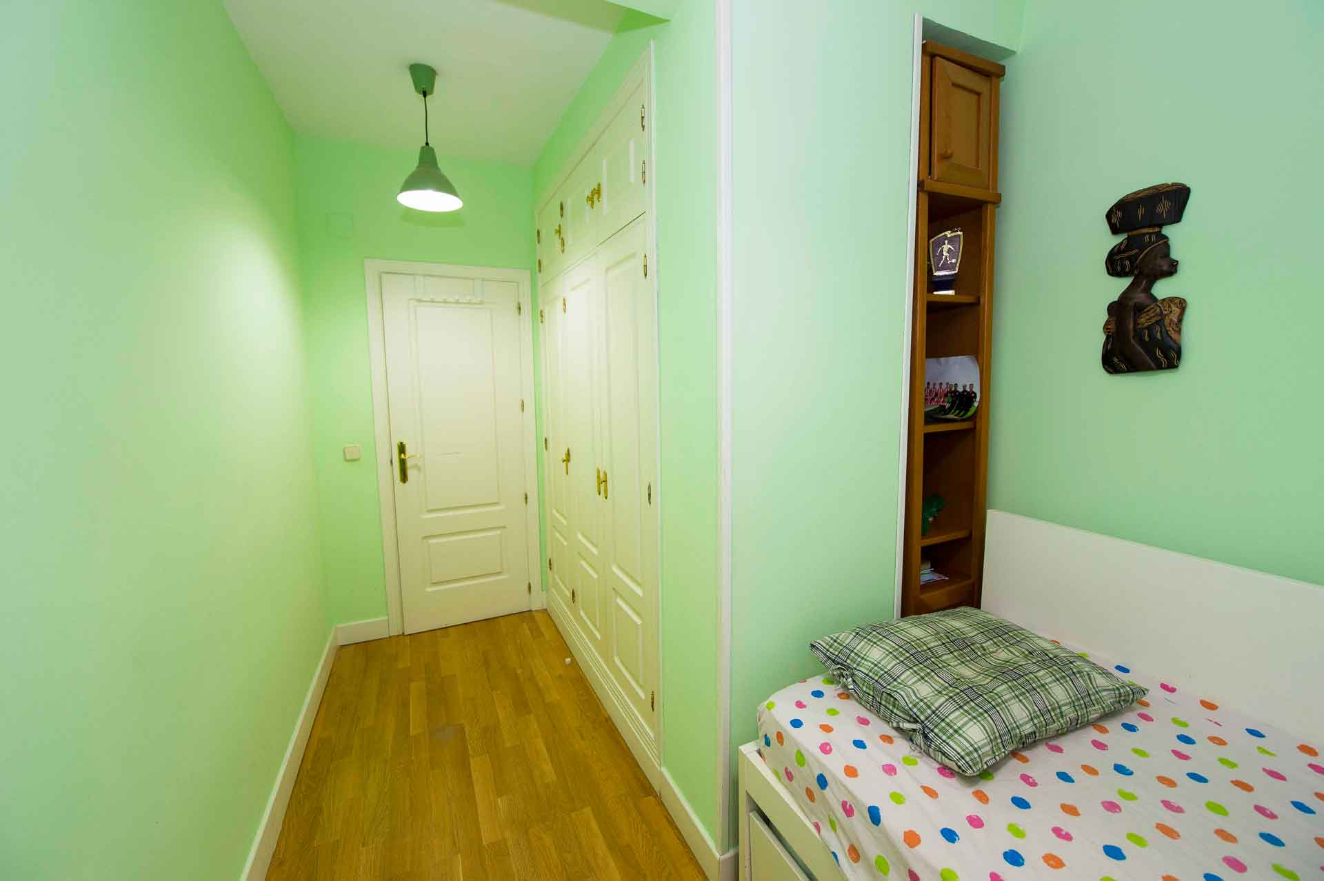 habitación reforma de piso en Pozuelo