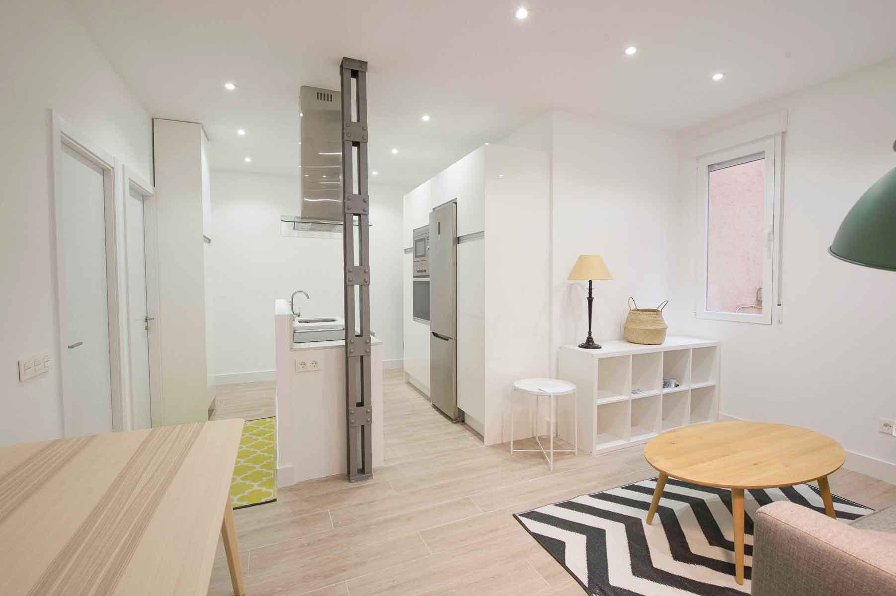 reforma de apartamento en Chamberí