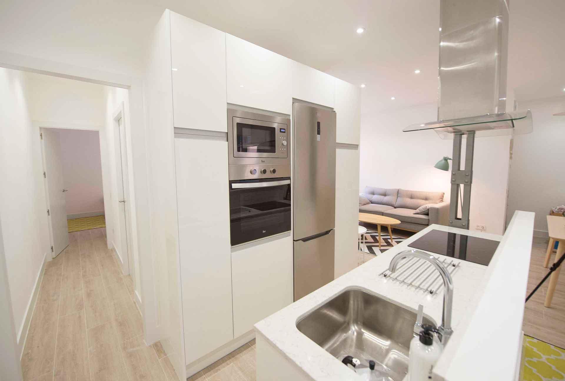 apartamento reformado en Chamberí