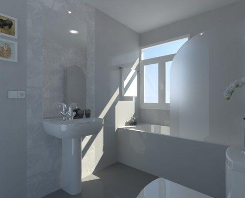Reforma baño de 3D