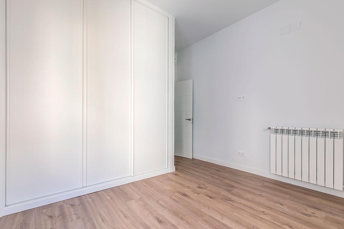 dormitorio piso Paseo de la Castellana