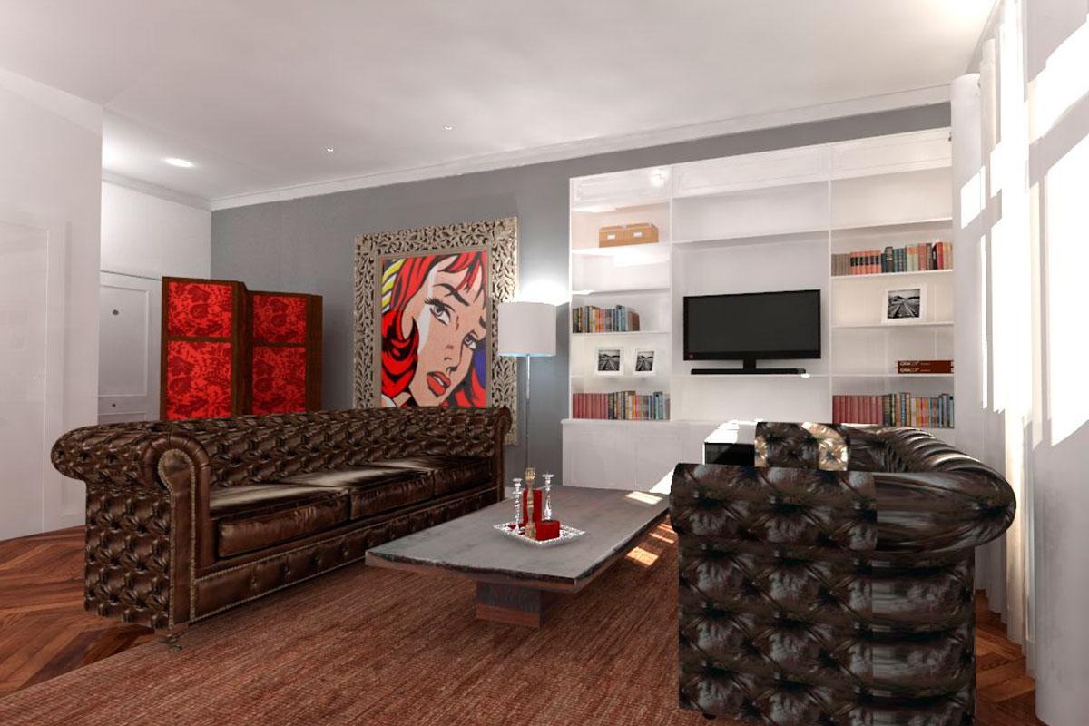 servicio de interiorismo y proyectos en 3D