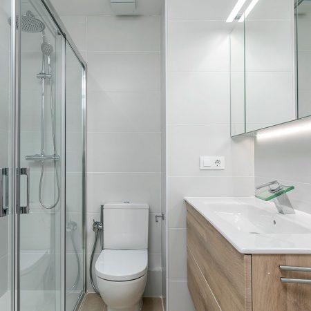 reforma baño piso Paseo de la Castellana