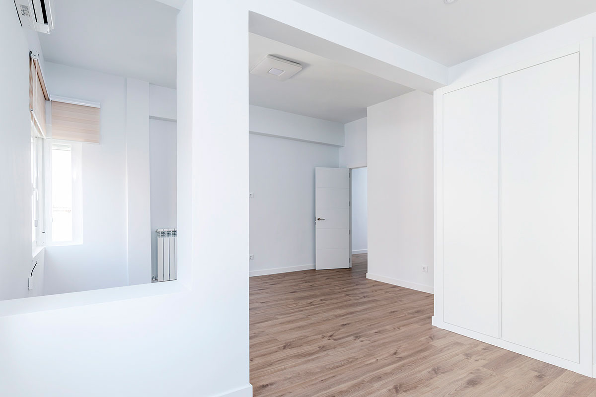 salón reforma piso Paseo de la Castellana