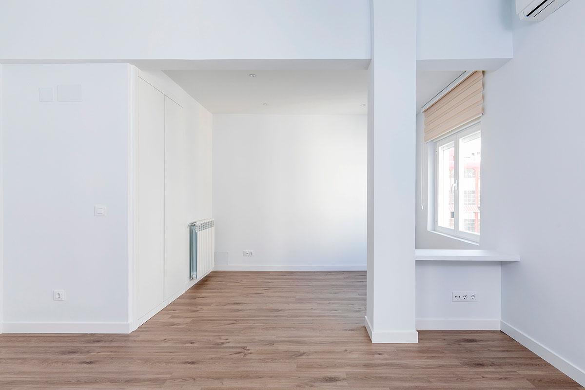 salón reformado piso Castellana