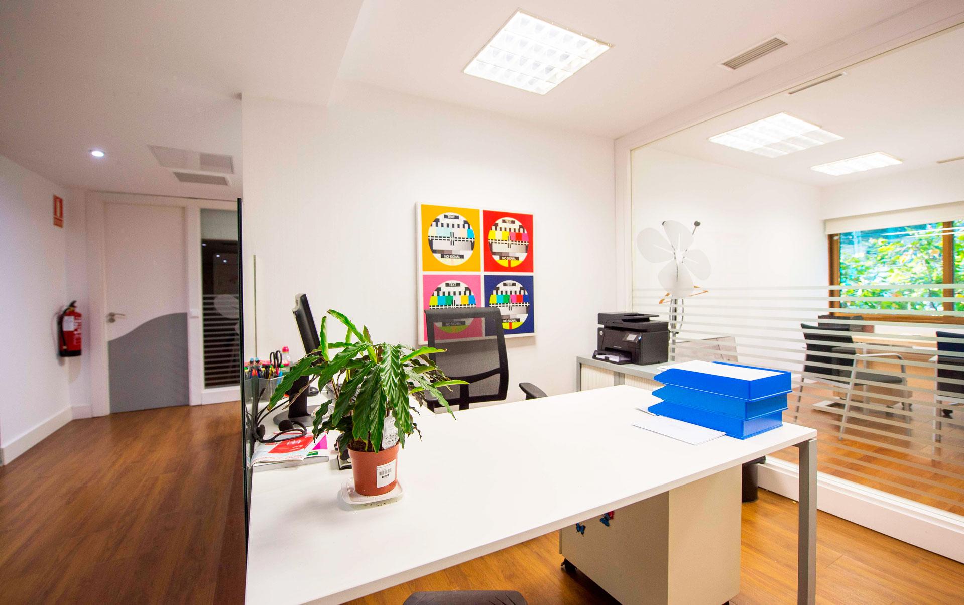 espacios oficina Calle Gran Vía