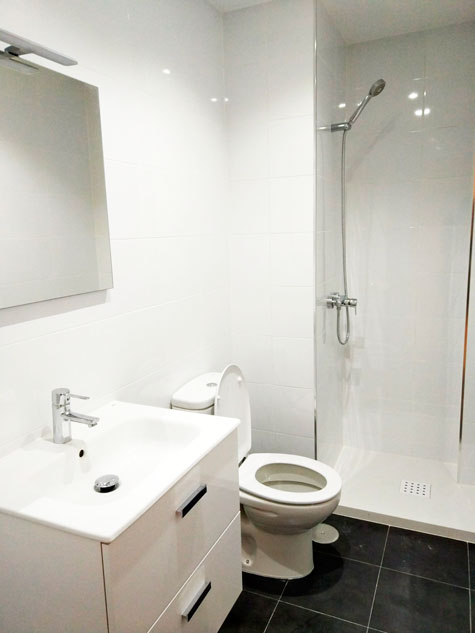 reforma de baño en Alcobendas