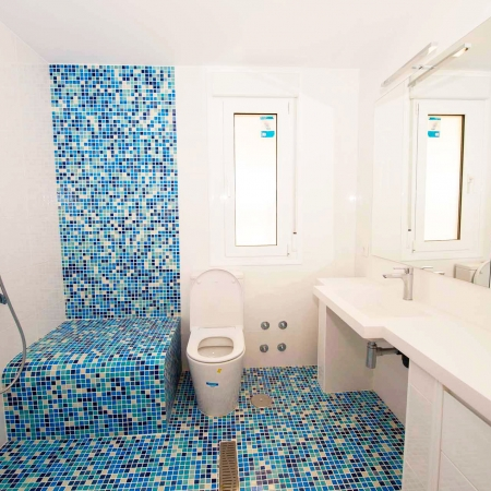 reforma de baño en ático de madrid
