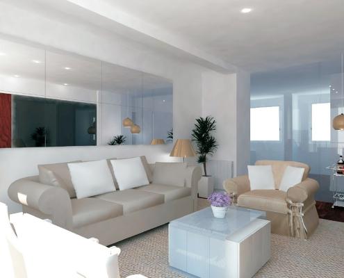 piso en Madrid diseño de interiores