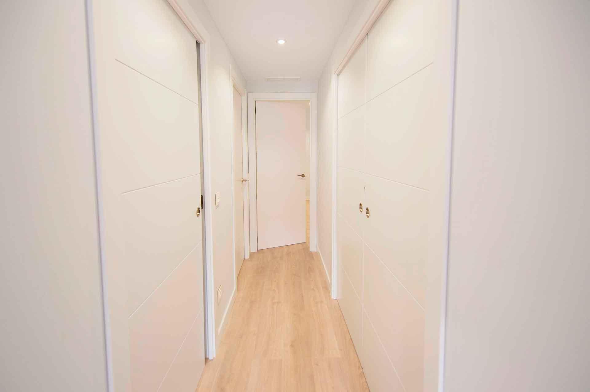 carpintería interior piso Madrid Río