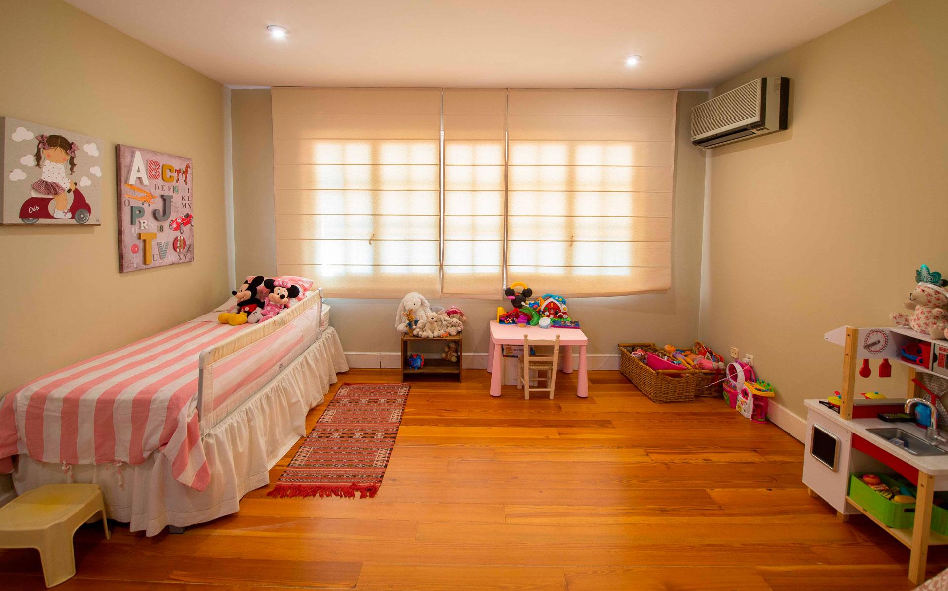 habitación infantil en chalet de la urbanización La Florida, Aravaca Madrid