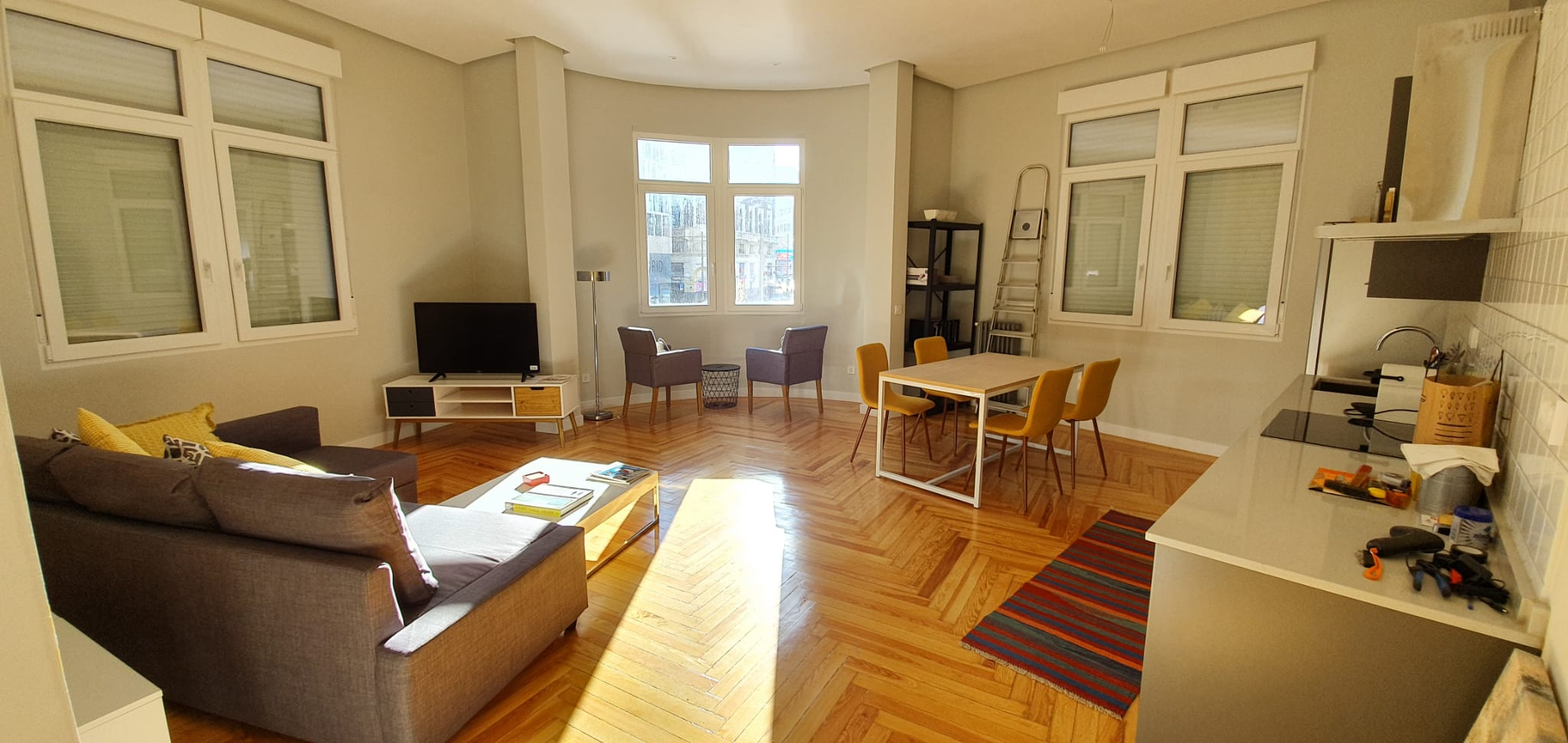 Reforma de apartamento en Calle Gran Vía de Madrid