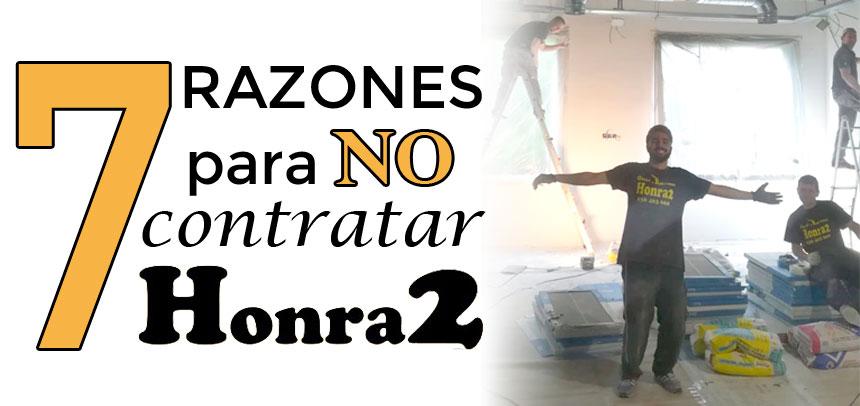 Razones para no contratar Honra2