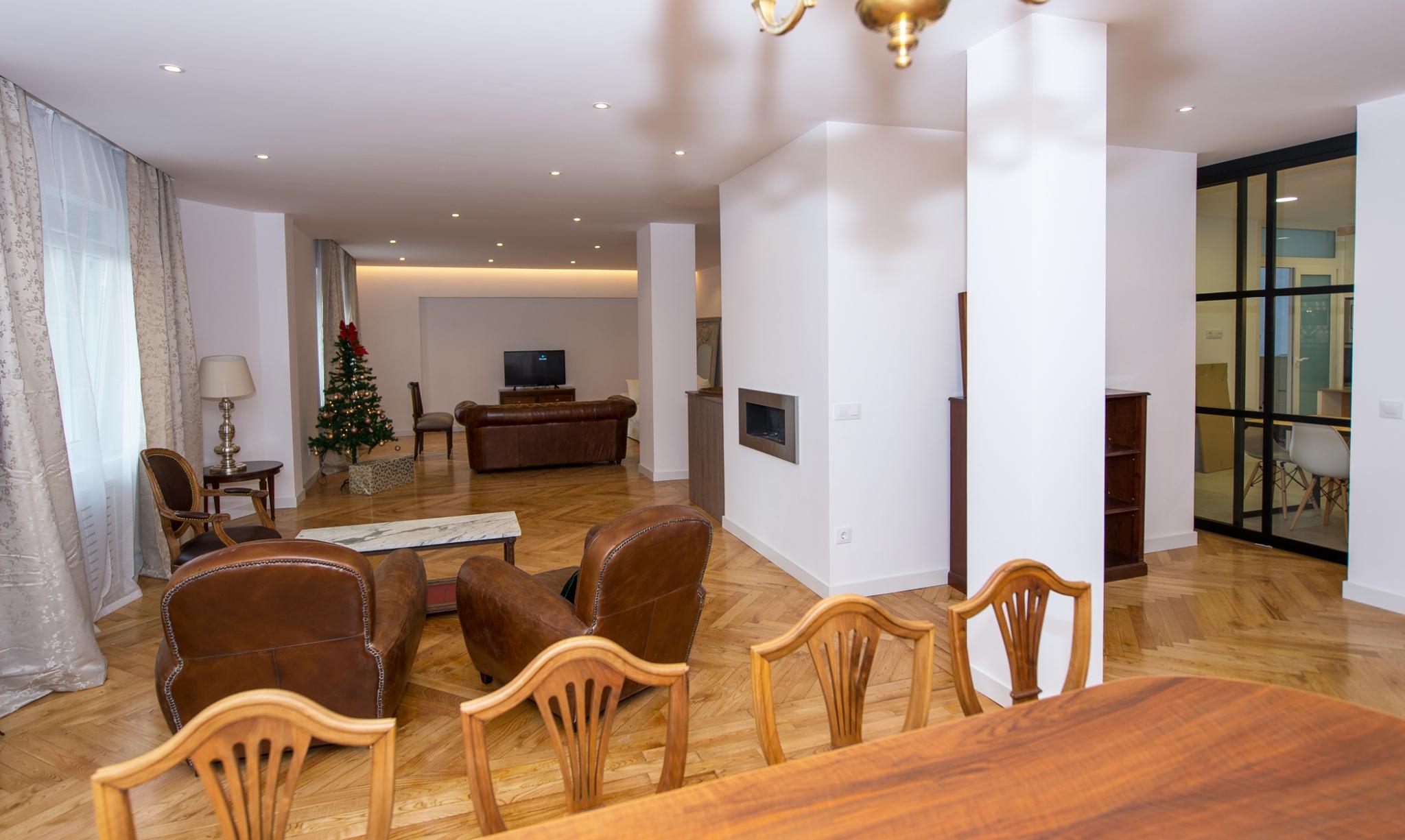 Salón piso calle Conde en Cartagena de Madrid
